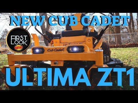 Cub Cadet ULTIMA ZT1 ZT2 | New Zero Turn Lawn Mower Review