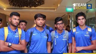 India Under 19 team arrives in Sri Lanka