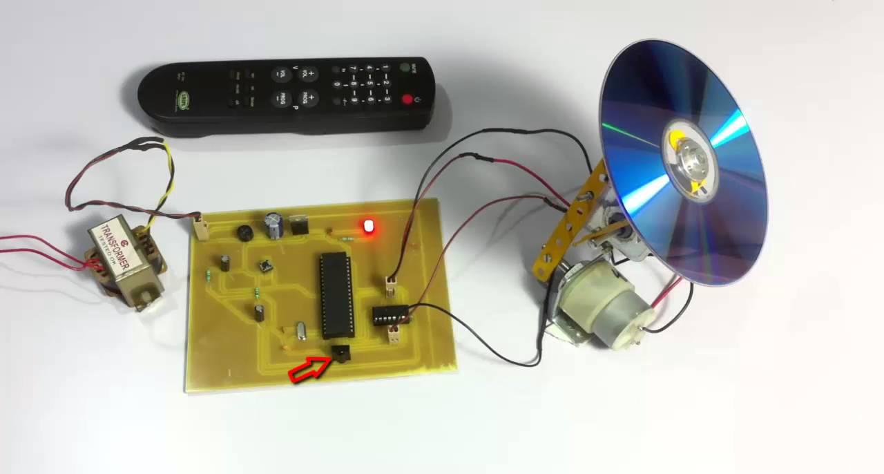 Dish Antenna Position Controlller Using TV Remote & Dish Antenna Position Controlller Using TV Remote - YouTube