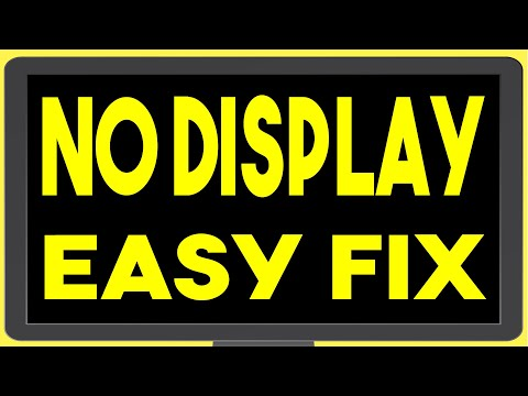 Computer Turns On But No Display On Monitor – Troubleshoot & Easy Fix – Cpu Adaptor Plug Issue