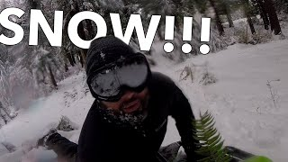EPIC Snow Sledding + Did I Mention It's EPIC?