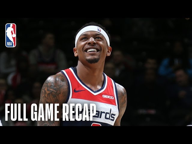 KINGS vs WIZARDS | Bradley Beal Goes For A Near Triple-Double Against Sacramento | March 11, 2019