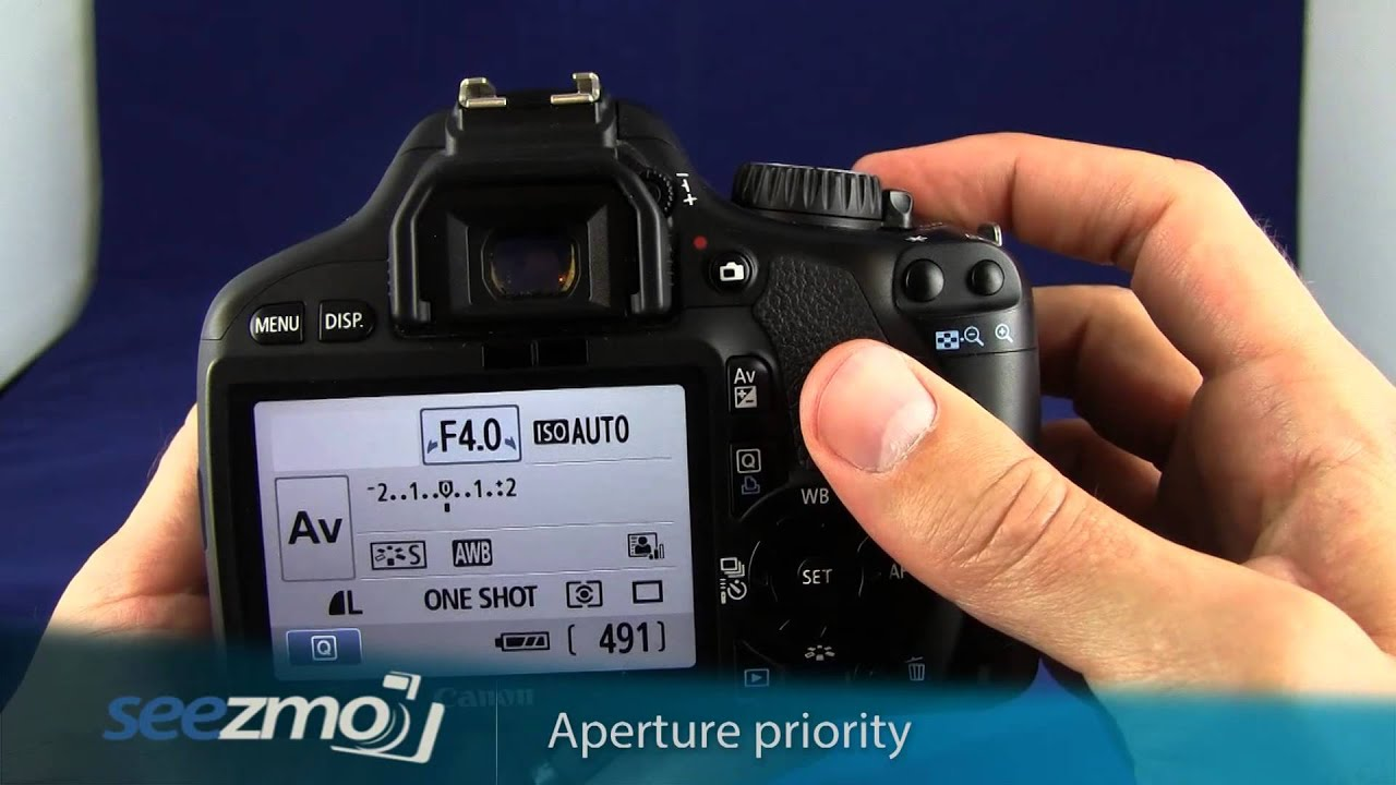 how to find the max aperture