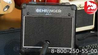 Гитарный комбик BEHRINGER AC108(Гитарный комбоусилитель BEHRINGER AC108 https://goo.gl/KjvT6H может похвастаться ламповым предусилителем и доступной цено..., 2012-03-25T19:16:52.000Z)