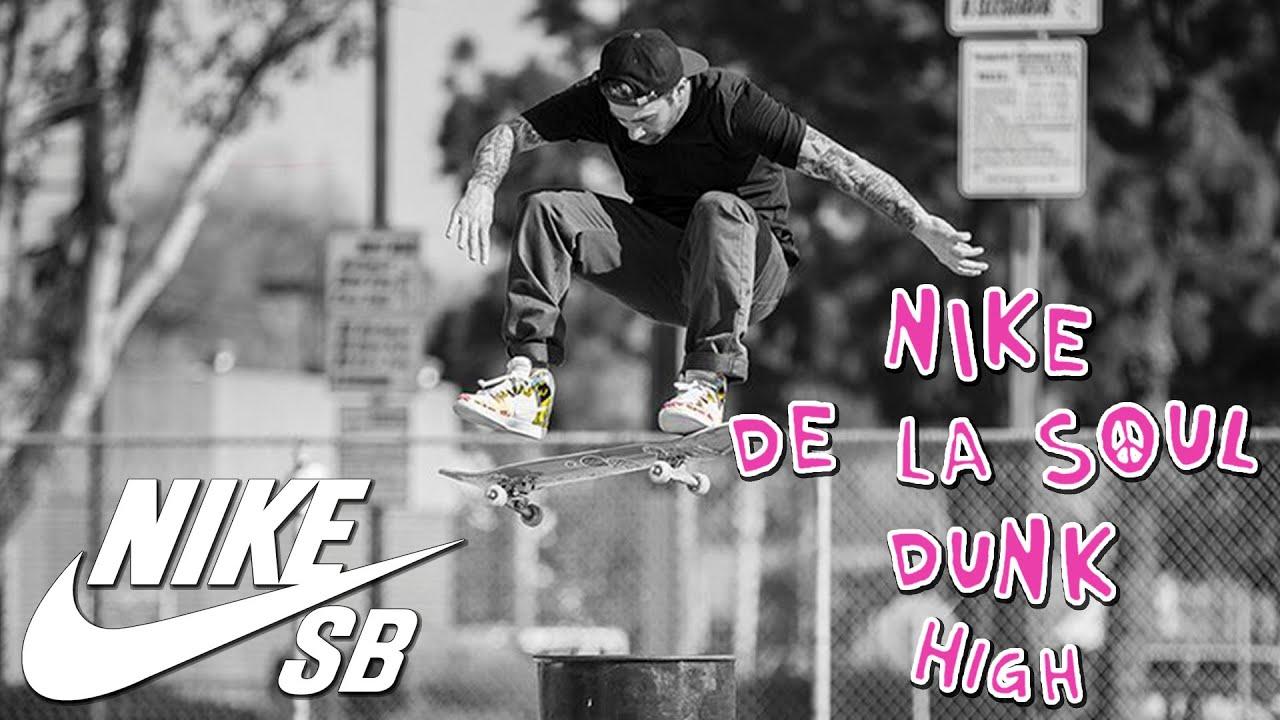 Nike SB X De La Soul Dunk High with Bobby Worrest