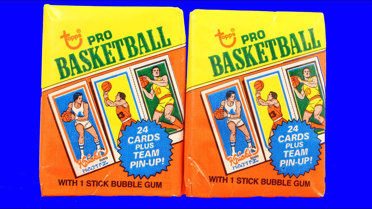 1980 81 Topps Basketball Wax Pack Break Pack Rip Opening Larry Bird Or Magic Johnson Rookie