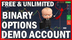 How to open 10.000$ Binary Options Demo Account - Free and no deposit