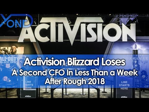 Activision Blizzard Loses a Second CFO in Less Than a Week After Rough 2018