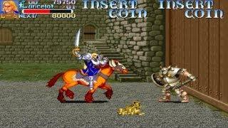 Arcade game Knights of the Round 1991 Capcom