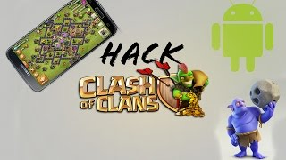 HACK PARA CLASH OF CLANS | ANDROID | 2016 | FUNCIONA 100% | ROOT
