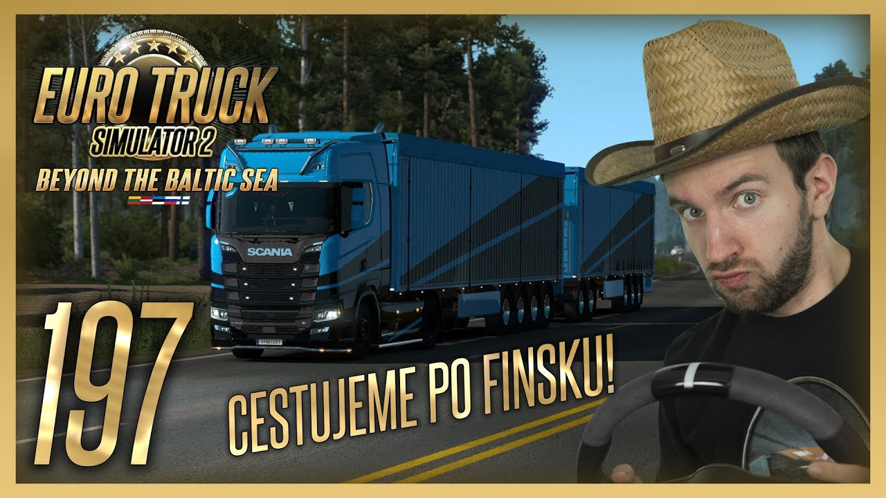 CESTUJEME PO FINSKU! | Euro Truck Simulator 2 #197