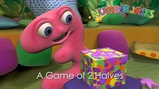 NUMBERJACKS | A Game Of 2 Halves | S1E18