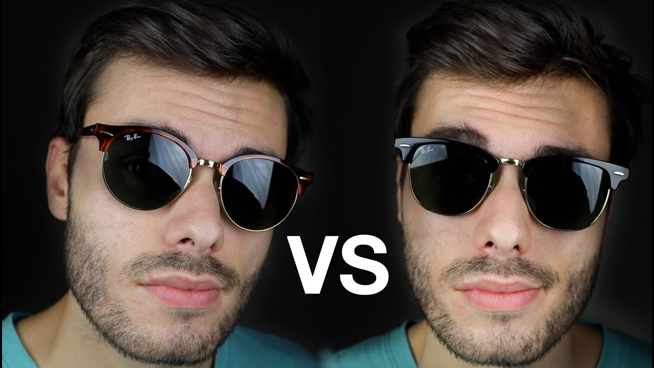 c26da752c0419 Ray Ban Clubmaster vs Clubround - YouTube