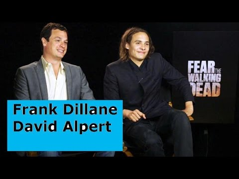 Fear the Walking Dead, Fun teaser interview, Frank Dillane, David Alpert, Walking Dead, FTWD