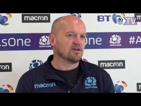 Gregor Townsend discusses Rugby World Cup training squad