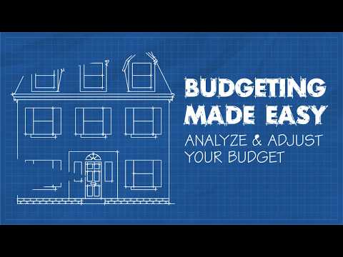 Analyzing and Adjusting Your Budget