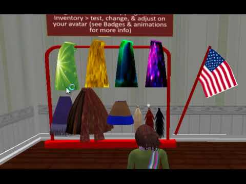 Acquiring items, teleporting, using camera in virtual reality