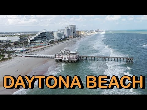 Daytona Beach Florida Tour 4K