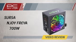 Скачать PC Garage Video Review Sursa NJoy Freya 80 Bronze 700W