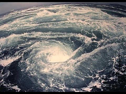 Amazing Whirlpool In The Ocean! (BIGGEST WHIRLPOOL IN THE WORLD?)