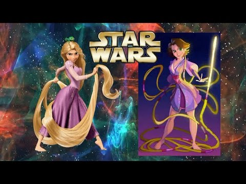 Disney Princesses in STAR WARS!
