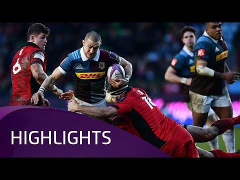 Harlequins v Edinburgh Rugby (Pool 5) Highlights – 14.01.2017