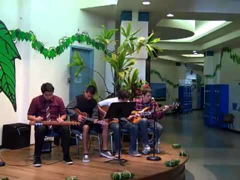 Hawaiian Steel Guitar Band at Connections Public Charter School in ...