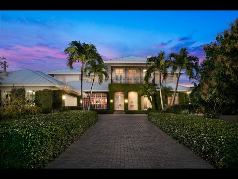 Tropical island style home in Brevard County florida