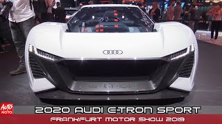 2020 Audi e-Tron Sport - Exterior - Frankfurt Motor Show 2019