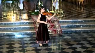 Marta Gębska, J. S. Bach Adagio i Presto z I Sonaty g moll