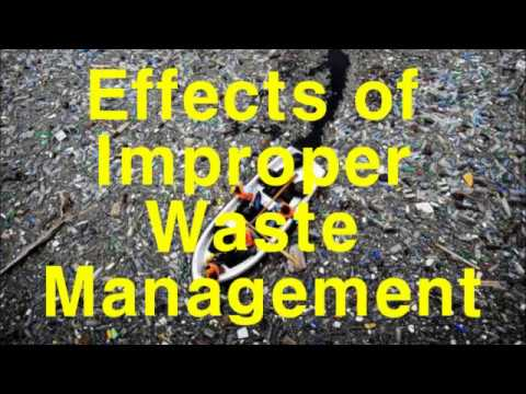 the effects of improper waste management