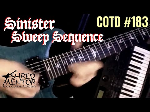 Sinister Sweep Sequence | ShredMentor Challenge of the Day #183