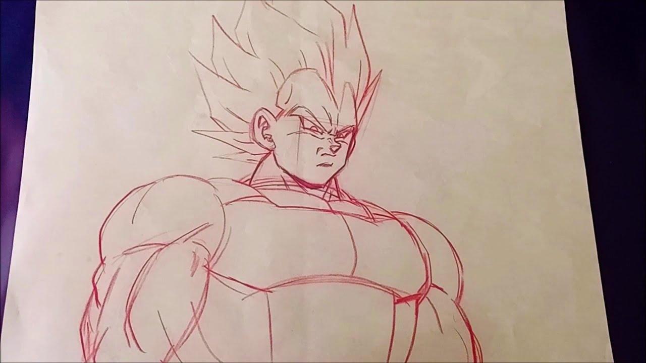 Dragon Ball Z Super Vegeta Animation Production Correction Layout Tadayoshi Yamamuro Épisode 157