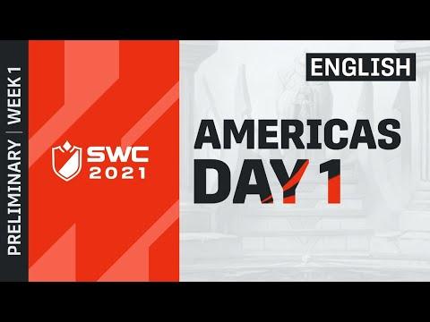 [ENGLISH] SWC2021 AMERICAS PRELIMINARY DAY 1 | Summoners War