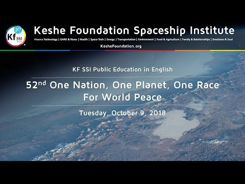 52nd One Nation One Planet One Race for World Peace Oct 9 2018