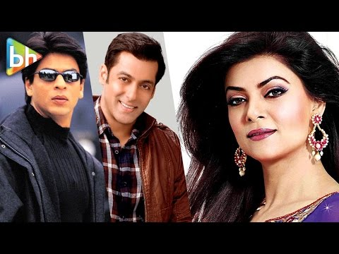 Shah Rukh Khan Is Aashiqui, Salman Khan Is Dosti | Sushmita Sen's Rapid fire