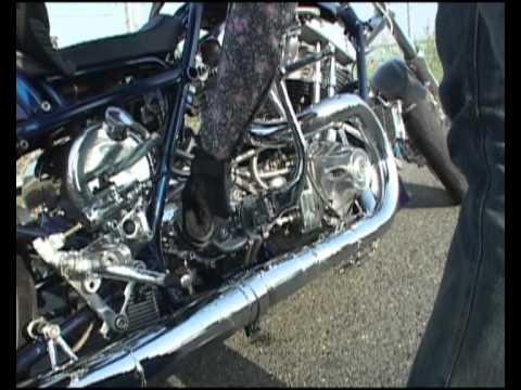 '73 Harley Custom Motorcycle by Risky Business Japan @ www.paulfunkdesign.com.avi
