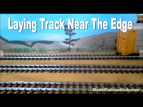 Model Railroad Track Laying Tips