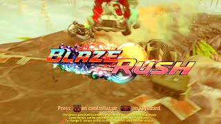 BlazeRush Review & Gameplay, PC! (GMan Tries, Let's Play)