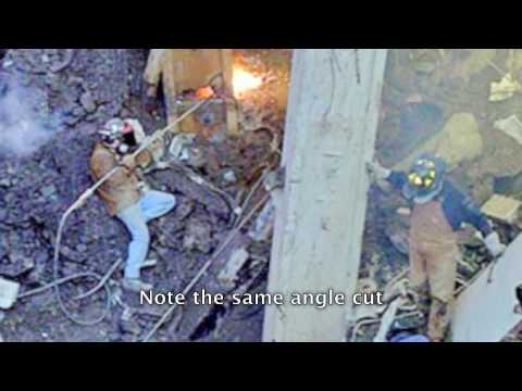911 Real Truth Thermic Lance Cuts WTC Beams  YouTube