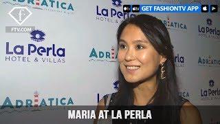 Maria at La Perla Opening part 1 | FashionTV