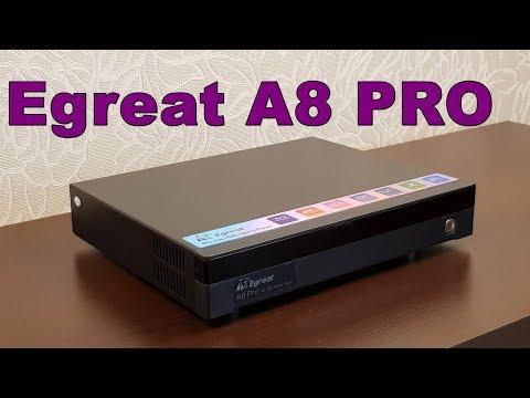 Egreat A8 PRO: обзор продвинутого медиаплеера с HDD отсеком и полной поддержкой образов Blu-Ray