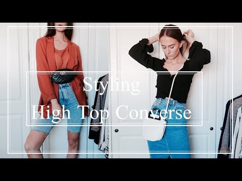 How To Style | High Top Converse - YouTube