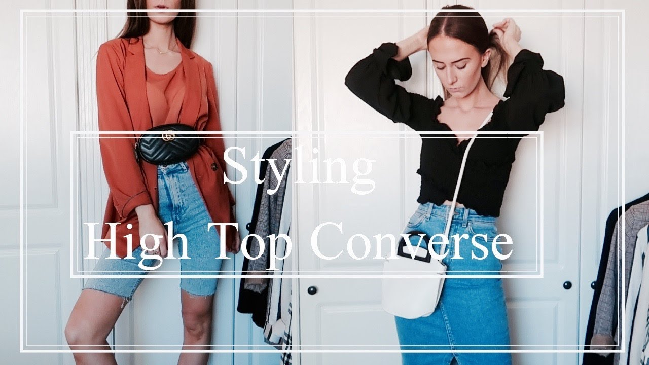 How To Style | High Top Converse