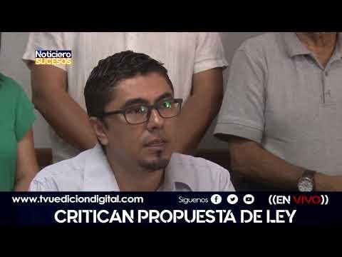 Critican propuesta de ley