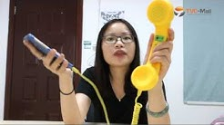 Hands-on Review on Retro Phone Handset for iPhone Samsung Smartphone - TVC Mall