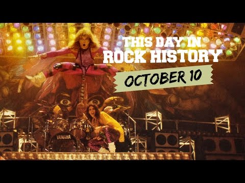 David Lee Roth is Born, King Crimson Holds 'Court' - October 10 in Rock History