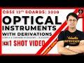 Optical Instruments Class 12 One Shot + Derivations   CBSE 12th Board 2020     Gaurav Gupta