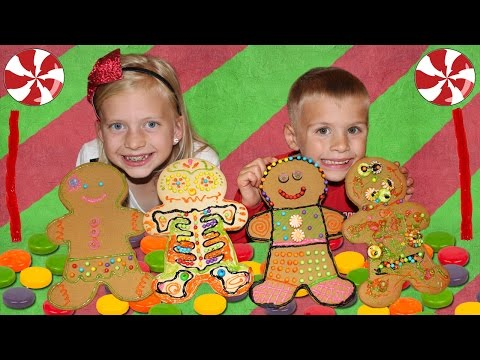 Giant Gingerbread Men!