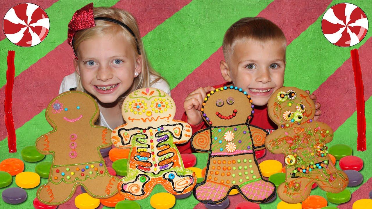 Giant Gingerbread Men